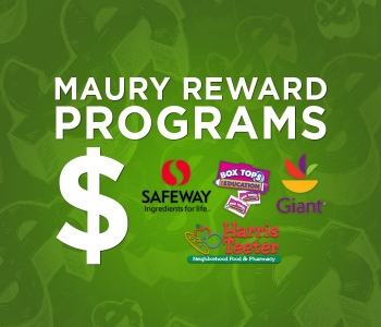 Maury Reward Programs -- Make Money for Our School