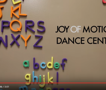 Maury Kids Featured on Joy of Motion Video