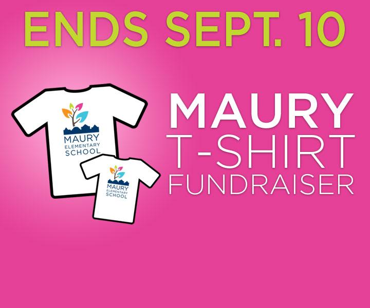 Maury T Shirt Fundraiser 24 Hours To Go Maury Elementary