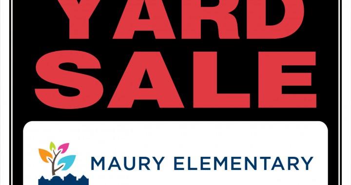 Maury Yard Sale