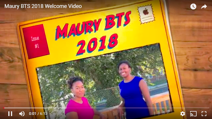 2018 Back-to-School Welcome Video