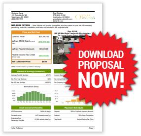 Solar Solution Net Zero Proposal