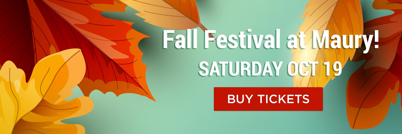 Maury Fall Festival - a 5th Grader Space Camp Fundraiser
