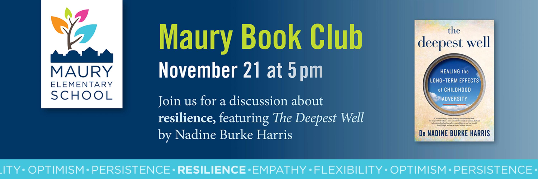 Maury Book Club, November 21