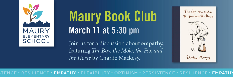 Maury Book Club