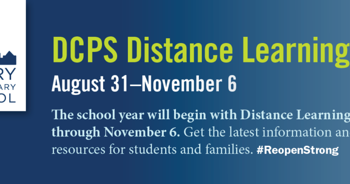 Distance Learning: August 31–November 6