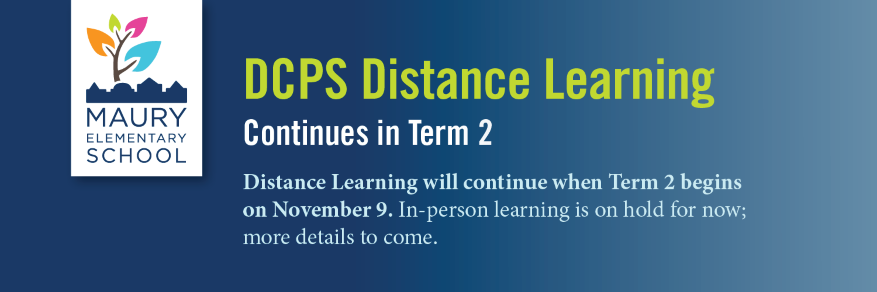 DCPS Distance Learning